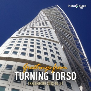 Turning Torso med InstaPlace