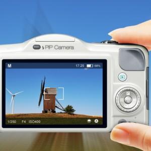 Foto i fotot med PIP Camera