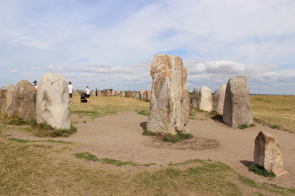 Ale stenar på närmare håll